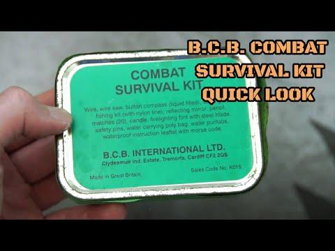 B.C.B. Combat Survival Kit: Quick Look