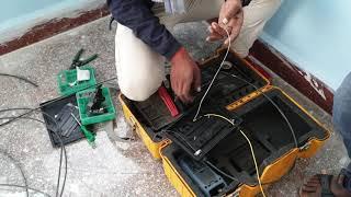 BSNL FTTH Bharat Fiber 777 50 Mbps plan installation & speed test