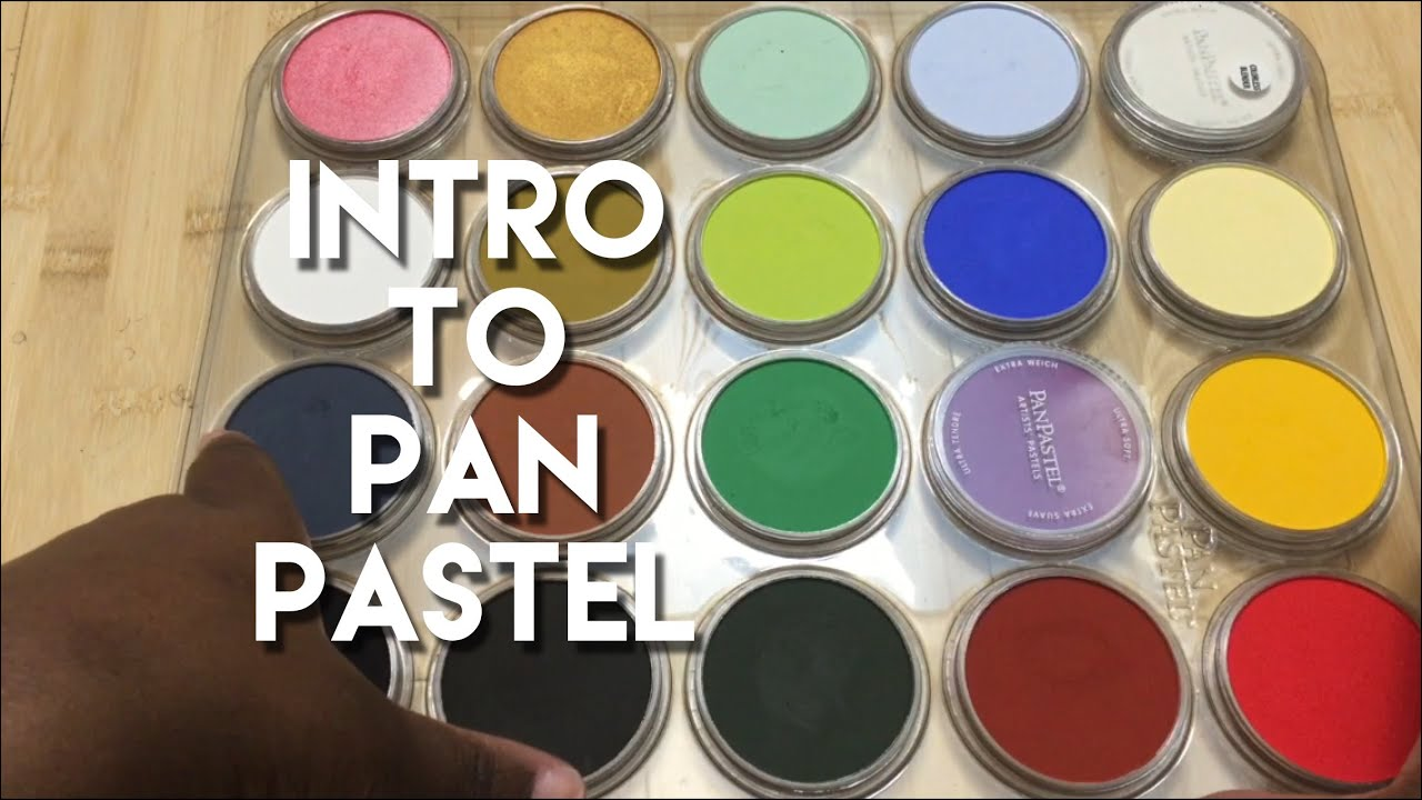 Introduction To Panpastels For Adult Coloring Book