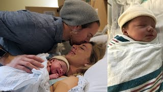 OUR BABY GIRL IS FINALLY HERE!! Emotional Birth Vlog