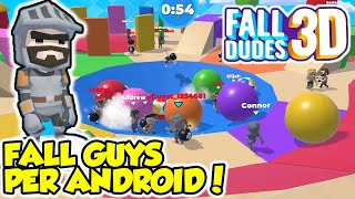 FALL DUDES 3D - FALL GUYS PER ANDROID! - Android - (Salvo Pimpo's)