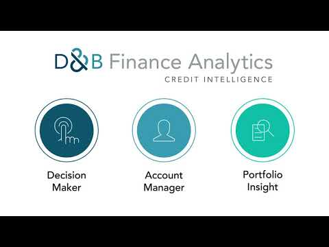 D&B Finance Analytics - Credit Intelligence