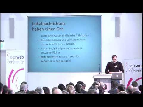 Lorenz Matzat, OpenDataCity Berlin, bei der Local Web Conference 2012