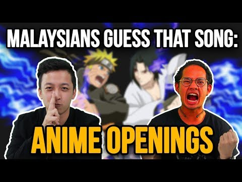 Malaysians Guess That Song: Anime Openings