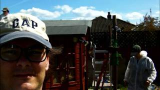 how not to repair a summer house roof