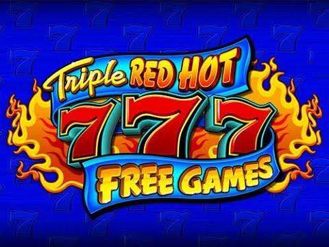 💥Red Hot 777 Bonus Free Games💥Slot Machine Live Play💥