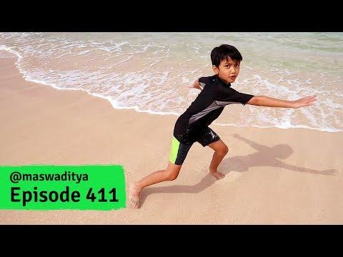 Ombaknya Gede!  Asoy Dulu di Pantai Watu Karung Pacitan