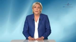 Marine Le Pen répond aux questions des médecins