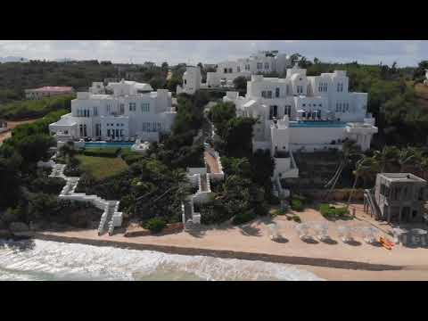 Long Bay Villas Anguilla 2019 Drone Video of Property Beach
