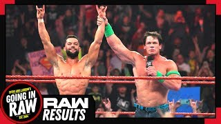 WWE RAW 1/14/19 Review & Full Results | HUGE Change To Rumble Main Event! | Going In Raw Podcast