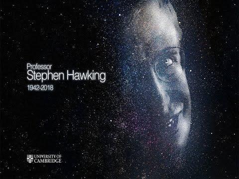 In memoriam Professor Stephen Hawking 1942 - 2018.