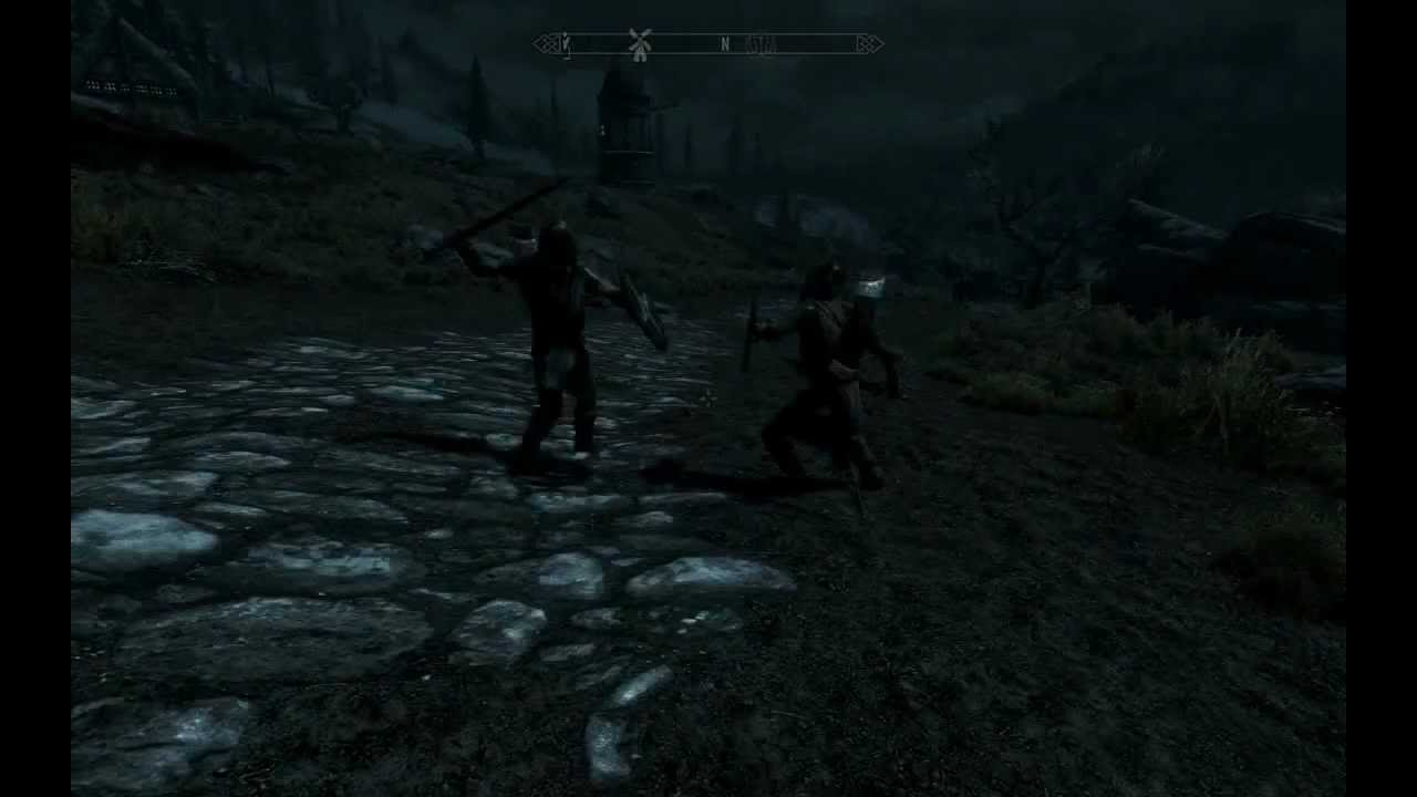 how to make guards stop attacking in skyrim