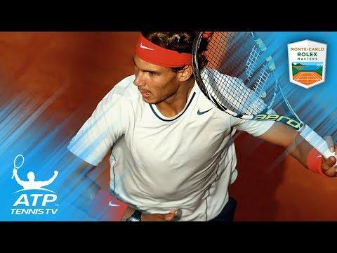 Sensational rallies & match point saves: Nadal vs Dimitrov at Monte-Carlo 2013