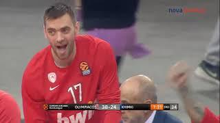 Ολυμπιακός-Χίμκι: 71-57  Ηighlights