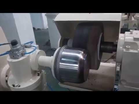 cookware outside surface polishing machine