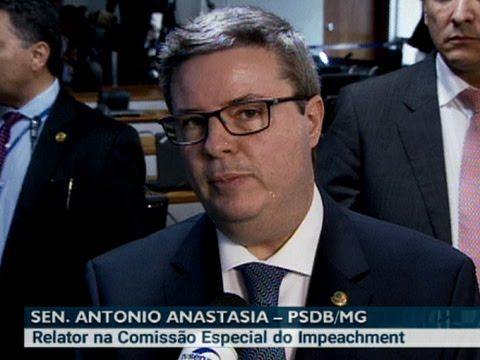 Anastasia avalia trabalho da Comissão Especial do Impeachment
