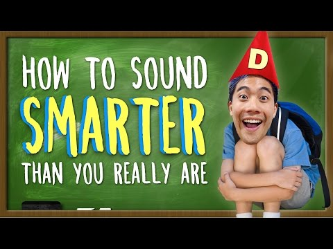 Thumbnail: How To Sound Smarter Than You Really Are!