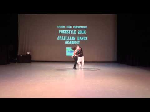 Brazilian Dance Academy at Rise Up Fundraiser 2012-Freestyle Zouk