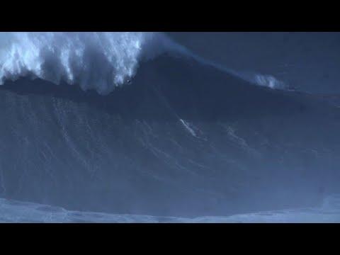 Brazil's Rodrigo Koxa sets record for biggest wave ever surfed