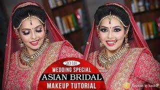 Asian Wedding Bridal Makeup Tutorial .