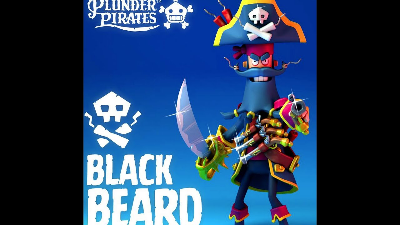 Plunder pirates getting the legendary pirate black beard for Plunder pictures