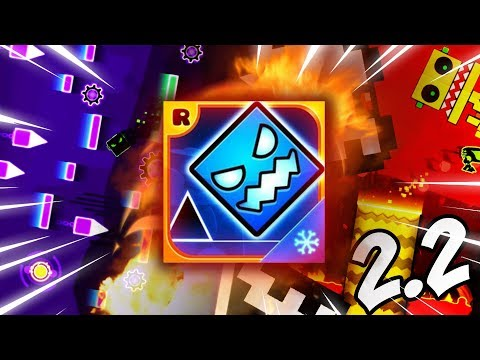 Geometry Dash SubZero | ''All Levels 1-3'' 100% Complete [GEOMETRY DASH 2.2 FEATURES]