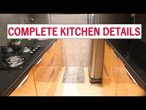 Modular kitchen ideas for small home | budget kitchen |luxury & modern look |small area kitchen tips
