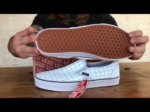 ghostly-x-vans-classic-slip-on-with-reflective-ghost-print-unboxing-+-on-feet