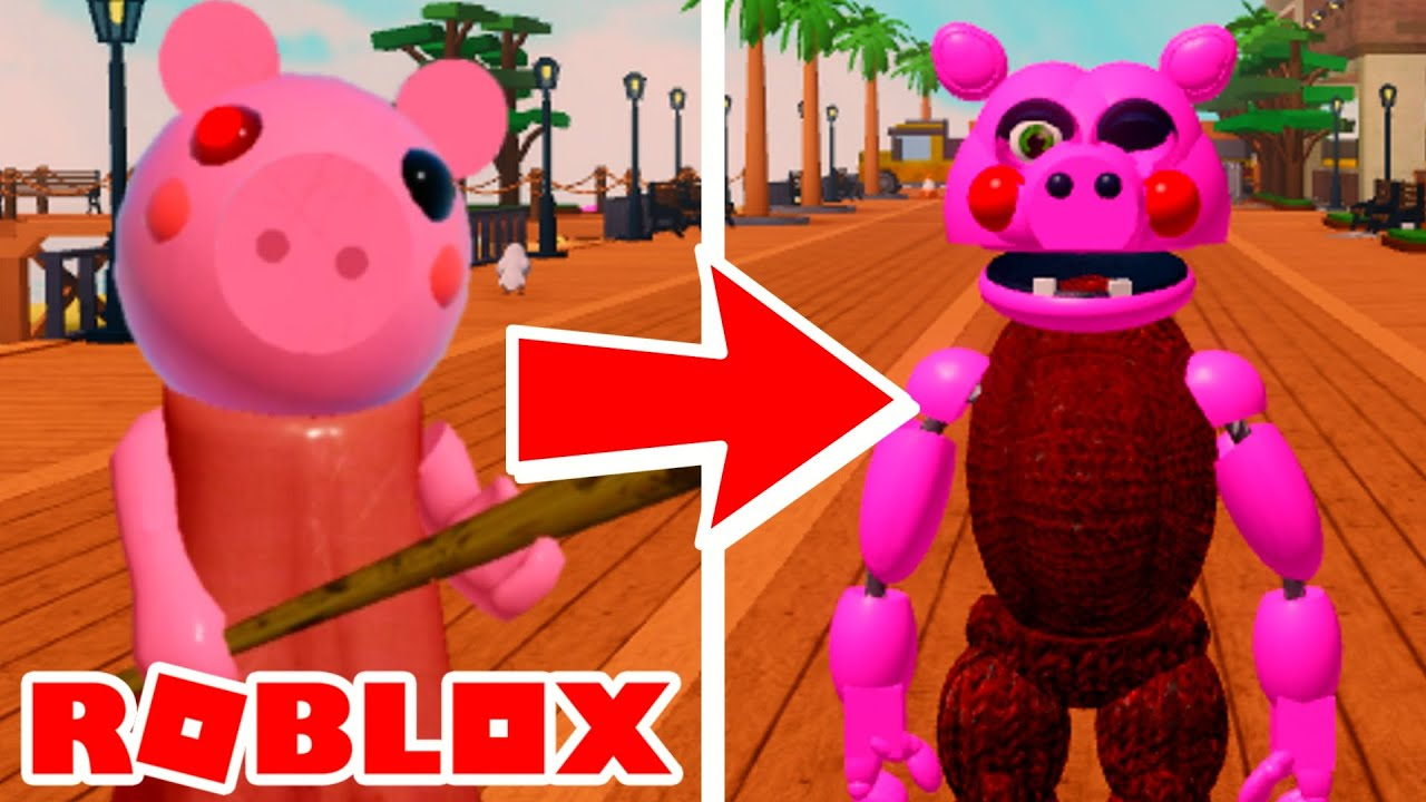 Fusionzgamer Roblox Piggy Becoming Piggy In Roblox The Pizzeria Roleplay Remastered Youtube