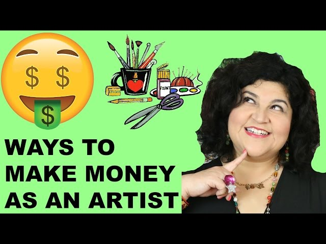 How to Make Money as an Artist or Crafter