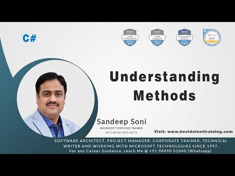 C# Tutorial | Understanding Methods thumbnail