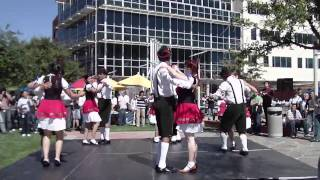Polka Performance at Oktoberfest