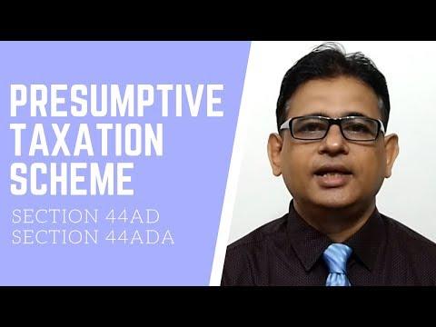 Income Tax India | Presumptive Taxation Scheme | Income Under Section 44AD And U/s 44ADA | Taxpundit
