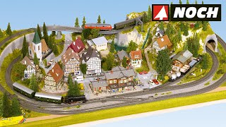 NOCH Modellbau Aufbau von Fertiggeländen für die Modelleisenbahn