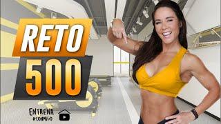 ¡RETO 500 ABDOMINALES A TOPE! 🔥💪🏼: RUTINA INTENSA EN CASA  SOLO 30 MINUTOS
