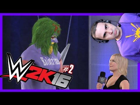 Τα Πρώτα Ματς του Κωλότριχα! (WWE 2K16 #2)