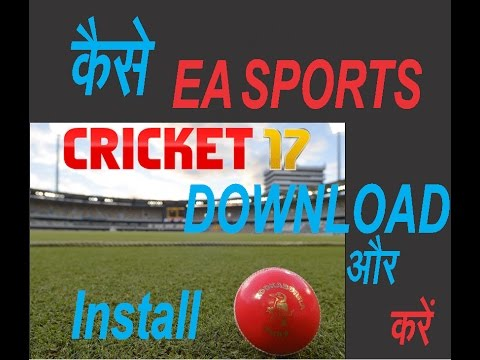 cricket 2017 game torrent download