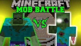 MUTANT ZOMBIE VS ERODED ZOMBIE - Minecraft Mob Battles - Mods