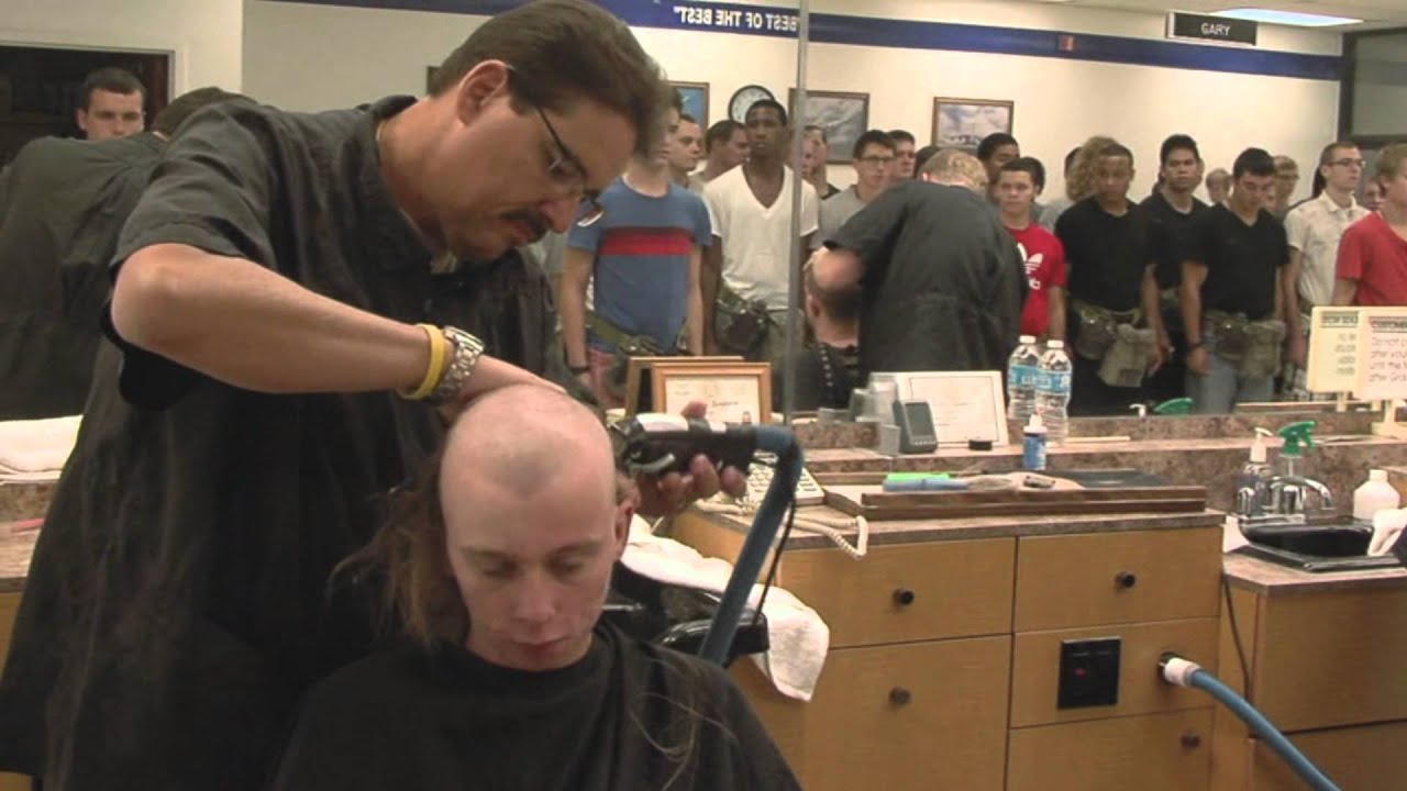 20 usaf bmt- clipper cuts (1) - youtube