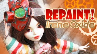 Repaint! Irene Oxide Steampunk OOAK Monster High Doll