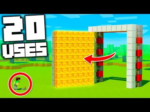 20 Creative Ways to use Honey Blocks in Minecraft 1.15!
