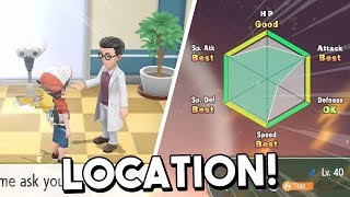 How To Get The Judge Function & IV Checker In Pokemon Let's Go Pikachu  & Let's Go Eevee