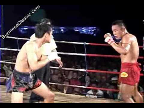 Thai vs myanmar 2011 fight 3: Video credits to Burmeseclassic Lethwei rules- 3 X no standing 8 (2 sec per count) count. Head butts or any way of fighting is ok. No eye gouging nor groin kicking. Ok to attack above a foot level even opponent is down on the canvas. 3 mins time out could be requested by any fighter at any time duirng the fight even after first knock out. No points system. Fight automactically ends up in a draw at the end of rounds if no KO.
