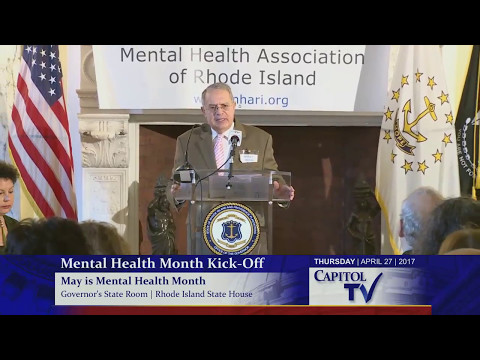 2017 Rhode Island May Is Mental Health Month Kick-Off
