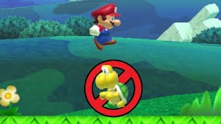 Killing enemies in Super Mario Maker is now illegal