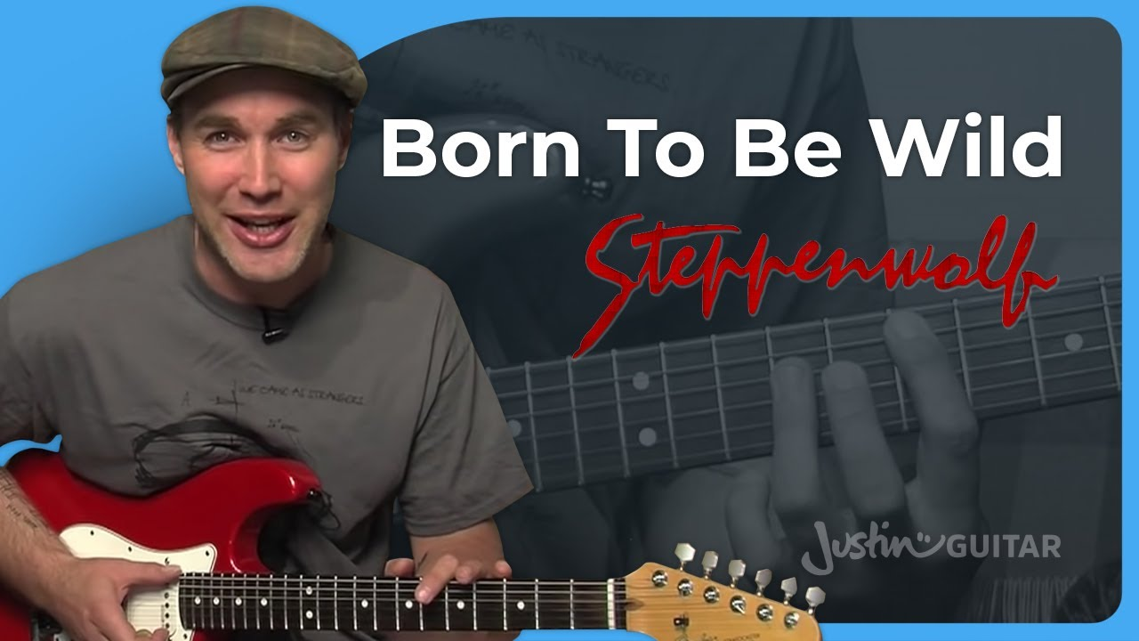 How To Play Born To Be Wild By Steppenwolf Guitar Lesson Sb 305