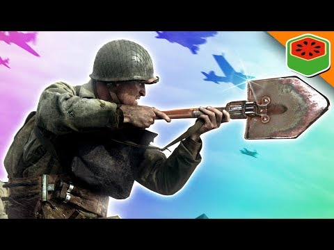 SHOVEL ONLY SHENANIGANS! | Call of Duty WW2