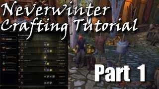 Guild Wars 2 - Crafting Tutorial Ep 1-4 Combined Video