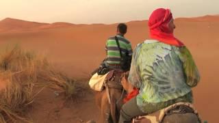 Marokko- Rundreise, Teil 7: Wüstentour und Übernachtung in den Dünen von Merzouga