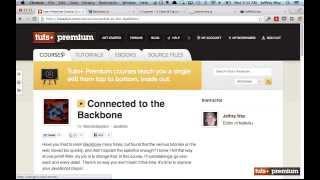 Backbone JS Introduction - 01 tutsplus